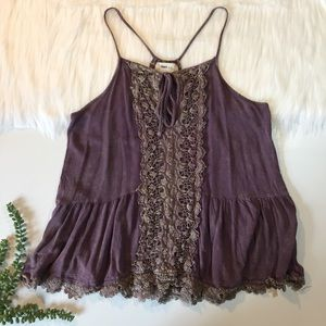 Altar'd State Lace Tank | Size Large